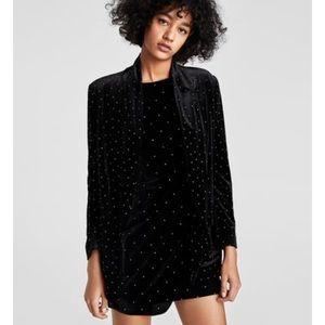 Zara shimmery blazer